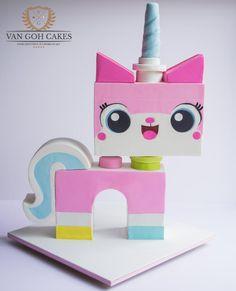 Lego Unikitty by Van Goh Cakes