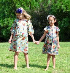 dress pattern for sale on Etsy - short sleeved, cotton