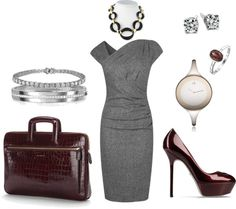"""""""Elegant Work Outfit"""" by vingananee on Polyvore"""