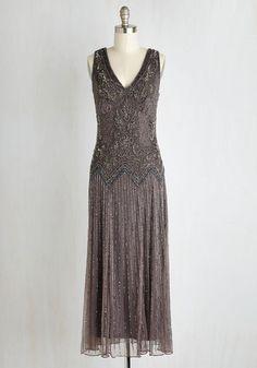 Deco Decadence Dress $199.99 AT vintagedancer.com