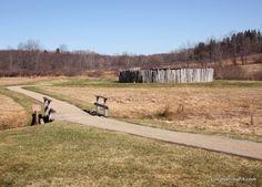 Visiting Fort Necessity National Battlefield in the Laurel Highlands of…