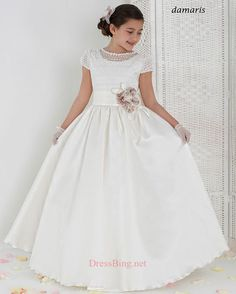 Aire Barcelona First Communions Dresses COLLECTION 2014 Style DAMARIS