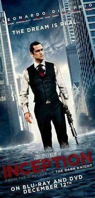 Inception Movie Poster Joseph Gordon Levitt