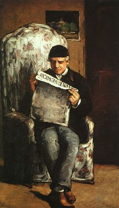 Artists Father-Paul Cezanne