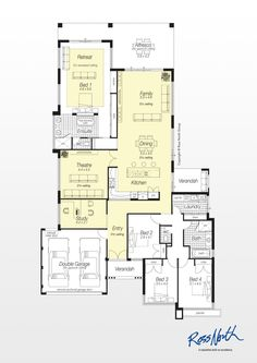 1000 images about house plans on pinterest floor plans for Ross north home designs
