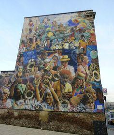 Hackney Peace Mural, Dalston Road