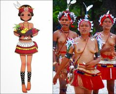 COSTUME PLANET: Federated States of Micronesia