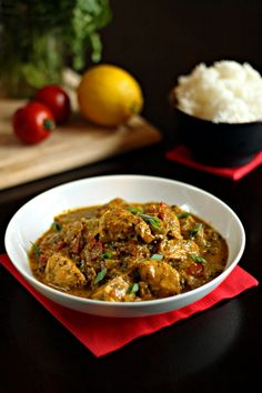 Indian Tomato-Cilantro Chicken | The Wanderlust Kitchen