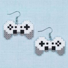 Are you a devoted video gamer? Then these Perler Mini Beads gaming earrings are the perfect fashion item to show off your interest. Quick and easy to make!