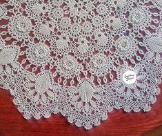 Crochet Potholders, Crochet Doilies, Crochet Lace, Filet Crochet, Irish Crochet, Crochet Table Runner, Lace Design, Baby Knitting Patterns, Crochet Designs