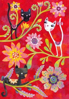 Hello,May! Художник - иллюстратор Aurelie Blanz. Обсуждение на LiveInternet - Российский Сервис Онлайн-Дневников