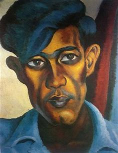 A Portrait of A Cape Coloured School Teacher, Omar - Gerard Sekoto L'art Du Portrait, Portraits, Art Van, Harlem Renaissance, Gerard Sekoto, South Africa Art, South African Artists, Art Deco, Doodle Sketch