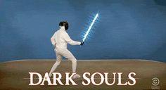 Explicando Dark Souls em um GIF