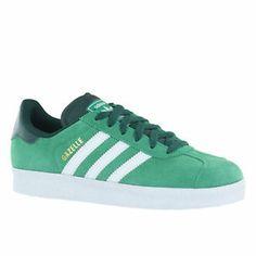 Adidas Gazelle II Green Womens Trainers | eBay