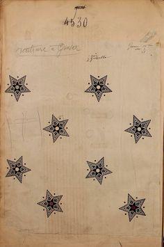 "quitecontinental: "" 4530. French textile design. Maison Robert. 1863. """