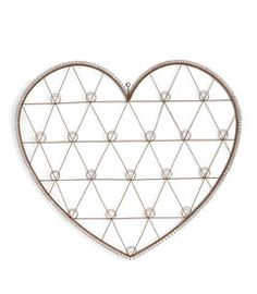 This charming wall card holder adds display space and rustic style to your space. W x HMetalImported Wire Picture Holders, Wire Wall Art, Heart Wall, Hanging Pictures, Rustic Style, Home Interior Design, Card Holder, Valentines, Invitations