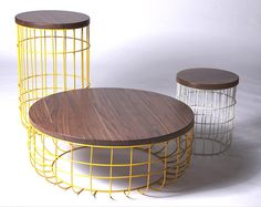 Side tables   Tables   Wire Group   Dare Studio   Sean Dare. Check it out on Architonic