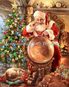 Santas Joy Around The World HAED