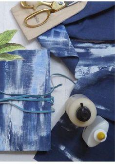DIY indigo Journal // Créations DIY avec Les malheurs de Sophie Pathways, Indigo, Diy, Author, Journal, Artist, Indigo Dye, Bricolage, Paths