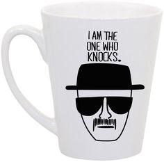 "Breaking Bad, Heisenberg ""I am the one who knocks"" coffee mug- Dad"