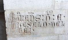 inscripció, Lisboa. foto Inés
