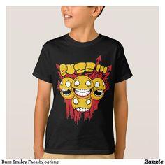 Buzz Smiley Face T-Shirt