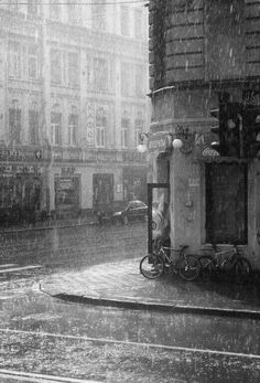 ♔ Paris in the rain