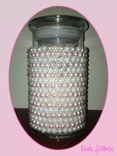 This is what I made from my empty Diamond Candle jar.