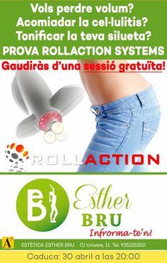 Estética Esther Bru: ¿Vols provar ROLLACTION Systems?