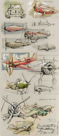 Sketches on Behance via PinCG.com
