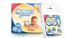 Huggies Augmented Packaging #huggies #app #AR