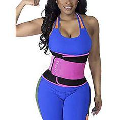 0ba1449923 Lingerie - YIANNA Waist Trainer Trimmer Slimming Belt Hot Neoprene Sauna  Sweat Belly Band Weight Loss at Women s Clothing store