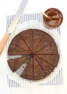 chocolade boterkoek - Laura's Bakery