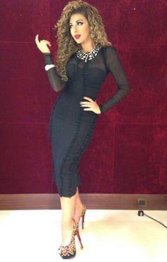 fd21ec903c42 Myriam fares great gown Long Tight Dresses
