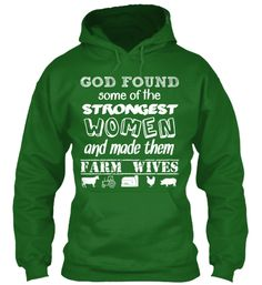 Farm Wife Tough | Teespring
