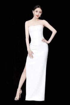 White Prom Dress Wipe The Bosom Party Dress Long Formal Dress Simple Evening Dress New Style Prom Dress Lace Evening Dresses, Prom Dresses, Formal Dresses, Wedding Dresses, Off Shoulder Evening Dress, One Shoulder Wedding Dress, Beautiful Long Dresses, New Dress, Dress Long