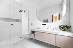 Photo 120 of 472 in Best Bath Photos from A Progressive Melbourne Development Company Helps Facilitate an Exquisite Home Renovation - Dwell Bathroom Renos, Bathroom Renovations, Bathroom Interior, Home Remodeling, Bathroom Fixtures, Bathroom Ideas, Home Improvement Loans, Home Improvement Projects, Home Renovation Loan