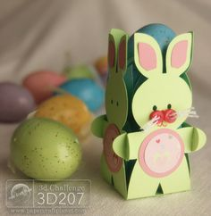 Tethered2Home 3d207 Easter Bunny Box Craft