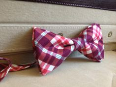 It's decided, I have to get a bow tie for a special date night or something! He'll love it!