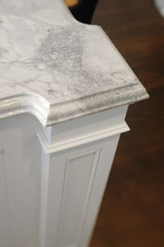 Alpine White granite Kitchen 1084 traditional kitchen