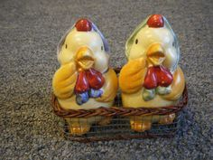 Baby Chicks Salt & Pepper Shakers by traderx4 on Etsy, $8.99