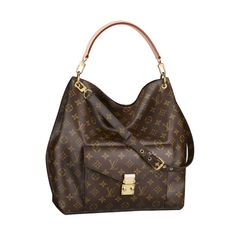 Enjoy The High Quality Of Louis Vuitton Metis Brown Shoulder Bags Enjoy Womderful Life!