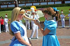 Alice and Wendy by briberry, via Flickr