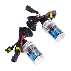 2Pcs H11 5000K 55W Car Head Light Replacement Xenon HID Headlight Bulb Lamp Truck With AC HID Ballast