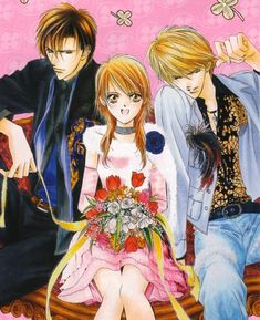 Skip Beat (Because this was like the first manga I ever read so I have to acknowledge it.....  but it's cute....and who doesn't love a good love triangle??)