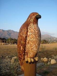 Large Animal Mosaic Sculpture