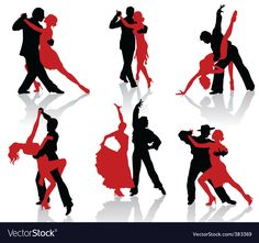 Silhouettes of the pairs dancing ballroom dances. Tango Silhouettes of the pairs dancing ballroom dances. Poses For Pictures, Dance Pictures, Tango Art, Dancing Drawings, Drawing Poses, People Dancing, Argentine Tango, Salsa Dancing, Ballroom Dancing