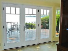 Exterior French Doors With Built In Blinds pvcu french door 8ft with 2 side panels https