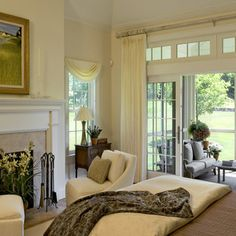 1000 images about french doors window treatments on - Curtains for sliding glass doors in bedroom ...