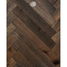 Provenza Herringbone Reserve Collection Autumn Wheat x Oak Engineered Hardwood Wood Block Flooring, Wood Planks, Hardwood Floors, Wood Floor Stain Colors, Hardwood Installation, Wire Brushes, Floor Patterns, Engineered Hardwood, Herringbone Pattern